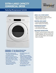 PROMO DRYER WHIRLPOOL COMMERCIAL LAUNDRY INDONESIA