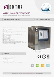 MESIN LAUNDRY BARRIER DOMUS