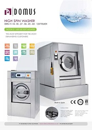DOMUS WASHER EXTRACTOR HIGH SPIN/ MESIN CUCI DOMUS SOFTMOUNT