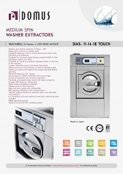 MESIN CUCI/WASHER EXTRACTOR DOMUS