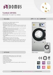 TUMBLER DRYER DOMUS/ MESIN LAUNDRY PENGERING MEREK DOMUS