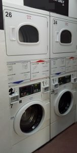 MESIN LAUNDRY STACK KOIN/COIN