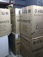 MESIN DRYER GAS DIAMANTE LAUNDRY