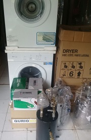 MESIN LAUNDRY DRYER GAS DIAMANTE