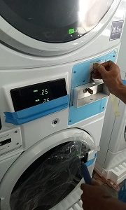 MESIN LAUNDRY KOIN/COIN