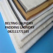BELTING DAN PADDING MESIN LAUNDRY