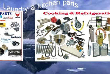 spare parts mesin laundry kitchen