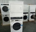 MESIN STACK WASHER DRYER LAUNDRY