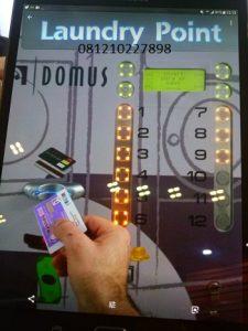 DOMUS CARD LAUNDRY MACHINE